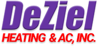 DeZiel Heating & Air, Inc. Logo
