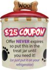 $25 Coupon Dog Food