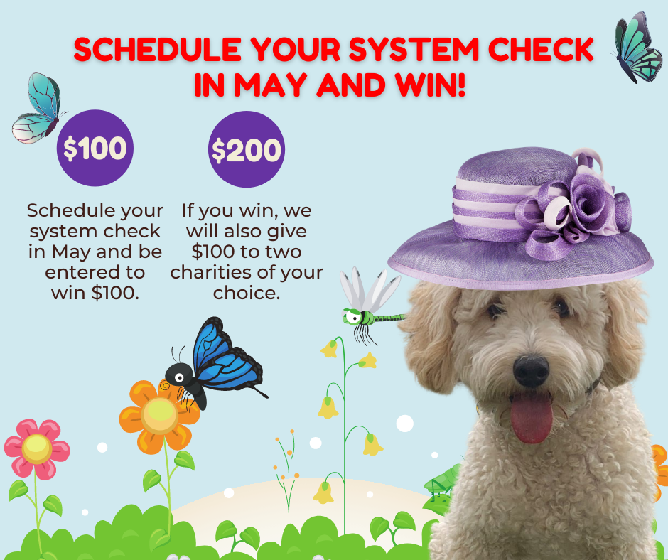 Schedule your system check